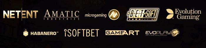 Игры и бренды Риобет казино